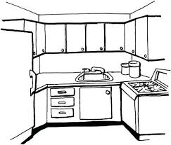 coloring pages of kitchen things kitchen coloring pages click to see printable version of kitchen