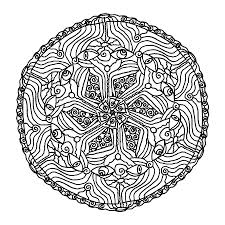 mandala coloring pages 7 coloring page