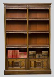 Round Revolving Bookcase Antique Bookcases To Decorate The Room In Antique Style U2013 Home Decor