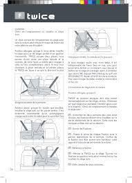 siege auto position allong manual instruções be cool