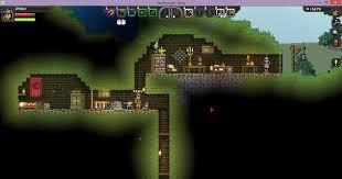 my little hobbit hole house starbound