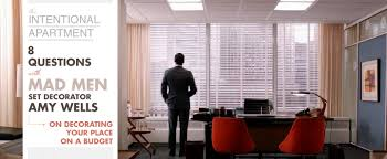 men set 8 questions with mad men set decorator on decorating