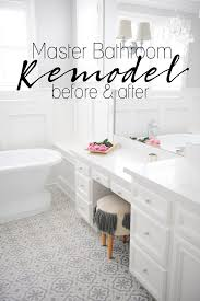 Bathroom Remodels Before And After Master Bathroom Remodel Before And After Pink Peppermint Design