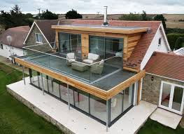 second floor extension plans flat roof extension with balcony google search roof