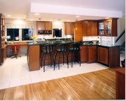 kitchen island breakfast bar ideas kitchen kitchen welcoming with maple cabinetry also ceramic