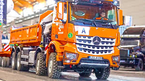 expensive trucks the most expensive rc truck loading crane hook lifter mb arocs