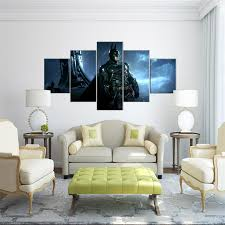 Livingroom Cartoon Canvas Painting Unframed 5 Pieces Canvas Prints Pictures For