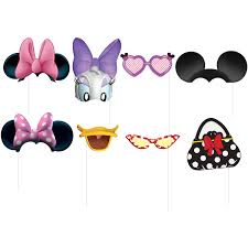 minnie mouse and daisy duck halloween costume minnie mouse photo booth props 8 pieces walmart com