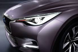 rose gold infiniti car infiniti q30 concept previews brand u0027s first compact car 43 photos