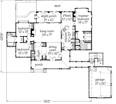 floor plans southern living lakeside cottage william h phillips southern living house plans