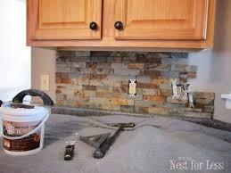 lowes kitchen backsplashes best 25 airstone backsplash ideas on airstone easy