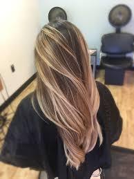 platinum blonde and dark brown highlights sandy warm bright white blonde platinum highlights for medium brown