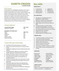 it cv sample word format resume sample sample resume templates