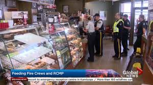 Bc Wildfire Data by Williams Lake Tim Hortons Stays Open After B C Wildfire