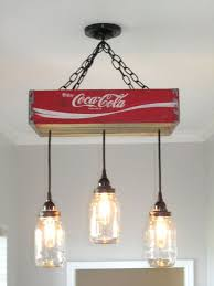 coca cola pendant lights recycled coca cola woodcase chandelier coca cola cola and ceiling