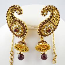 kanphool earrings pin by hasnaa rausdeen on jewelry indian jewelry