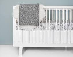 Gray And White Crib Bedding Feather Mist Crib Bedding Set Gray And White Modern Nursery