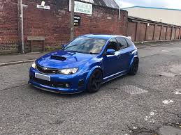 modified subaru impreza hatchback wide arch subaru impreza wrx sti hatchback in blackburn
