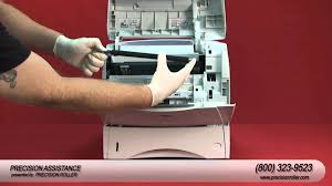 hp laserjet 4250 maintenance kit instructional video youtube
