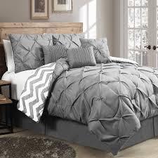 Gray Bed Set Light Grey Comforter Set Wayfair