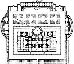 baths of caracalla floor plan baths of caracalla clipart etc