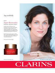 clarins advertising cosmetic u0026 skincare advertising pinterest