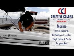 Fix Upholstery Marine And Boat Upholstery Repair We Can Fix That Youtube