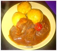 cuisine ivoirienne et africaine foutou avec sauce djoumblé sauce de gombo sec recettes africaines