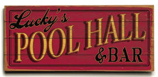 Pool Room Decor Personalized Pool Hall Planked Sign Or Design Your Own Sign