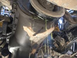 Ford Explorer Water Pump - radiator coolant antifreeze leaking out of engine block see
