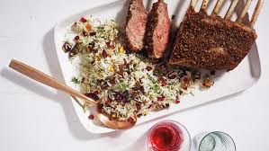 spice rubbed rack of lamb