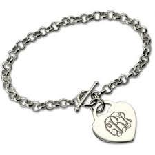 monogram bracelets personalized monogram bracelets