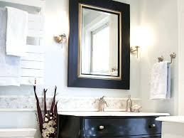 Wall Mirrors White Framed Long Wall Mirror White Framed Bathroom