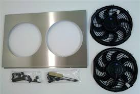 electric radiator fans and shrouds 1967 1969 camaro aluminum big block radiator fan shroud with 10