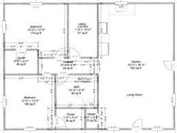 blueprints for a house pole barn with living quarters floor plans house plan barns 40 50