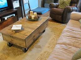 how to get your husband to build you a factory cart coffee table