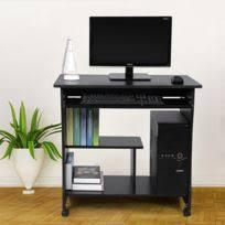 bureau informatique noir rocambolesk superbe bureau informatique table informatique