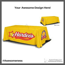 Custom Table Cloths by Custom Tablecloths Promotional Tablethrows Free Shipping