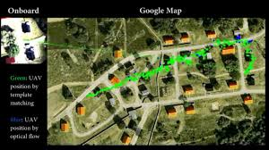 Google Maps Massachusetts by Google Map Referenced Uav Navigation In Gps Denied Environment