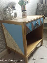 Painted Mid Century Furniture by Mid Century Modern Table Makeover With Modern Masters Arts And