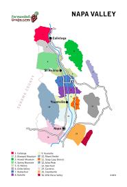 Sonoma Winery Map Us Wine Maps U2014 Fermented Grape The World Of Wine