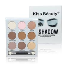 obsidian color eyes kiss beauty brand kilie kyshadow 9 colors eyeshadow palette shadow