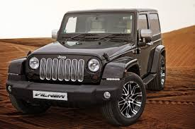 luxury jeep vilner treats jeep wrangler to a little bit of luxury