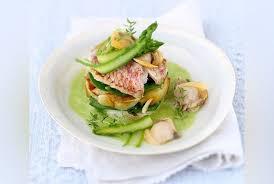 cuisiner des pois gourmands recette mille feuilles de rouget petits pois gourmands et pommes