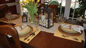 Dining Room Table Setting Ideas Easter Table Setting Ideas This Makes That