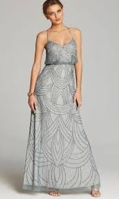 gown style dresses papell deco beaded blouson gown style 09186670 size