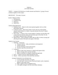tissue worksheet name section a intro to