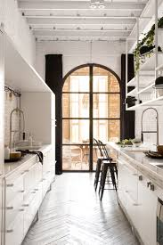 Ideas For A Galley Kitchen An Entry From Interiors Yum Kitchens Galley Kitchens And House