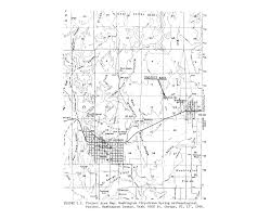 Eastern Washington Map by Washington County Maps And Charts