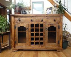 Walnut Wine Cabinet Comfort Alder Wine Cabinet Antiqued Light Walnut